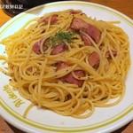 あるでん亭 - カルボナーラ1,030円、大盛110円