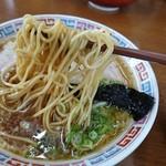 大橋中華そば - 麺
