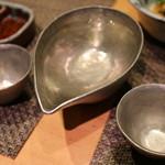 いちりん - 飲み放題の日本酒。銘柄は菊水(辛口)
