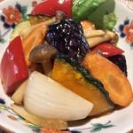 一絲 ito 創作精進料理 - 旬の野菜料理(秋野菜のマリネ)(+¥500)