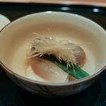赤寶亭 - 石川芋、インゲン、湯葉包み
