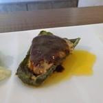 Cara île grano - ピーマンの肉詰め