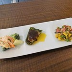 Cara île grano - 選べる惣菜3種