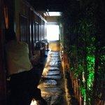 吉祥寺庭宴 - 個室前の廊下