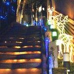 吉祥寺庭宴 - 階段もホリデーバージョン