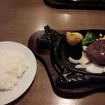 ishigakigyuusemmontensute-kihausuhachihachi - 県産和牛ハンバーグとライス