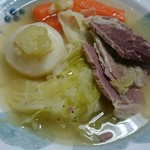 58570455 - カブとキャベツでスープ煮にしました。