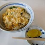 加福食堂 - かき丼:820円