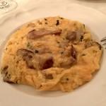 58572680 - イタリア産フレッシュポルチーニの卵焼き