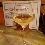 ワインと日本酒、時々シェリー - グラスワイン(白)