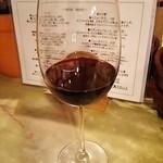 ワインと日本酒、時々シェリー - グラスワイン(赤)