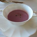58573136 - 紫芋のポタージュスープ