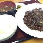 トシヤ - そば焼き定食