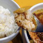 58574351 - ソーセージと野菜のスープカリー1250円
