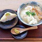 御殿山 - ゆし豆腐セット