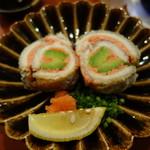 おっこん - 2016.11 アボガドの太刀魚、明太子巻き