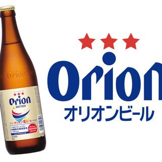 御殿山 - ドリンク写真:オリオン瓶ビール
