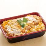 ジャンボ海老まるやま門田店 - 煮込みかつ丼 1,280円+税
