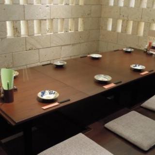 【個室10名様~14名様】おしゃれな店内はお席もゆったり!