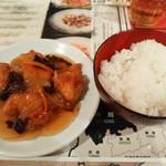 陳麻家 - 【2016.11.9(水)】日替定食の鶏唐揚甘酢あんかけ