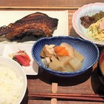 炭魚ほんだ - 料理写真:ムツ照り焼き定食(1600円)