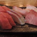 大和屋 音次郎 - ランチのお刺身食べ放題