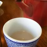 蕎麦屋 きみなみ - 蕎麦湯はトロミのあるタイプ