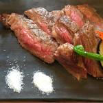 肉洋食オオタケ - 愛知県産牛肉のイチボ