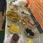 アーナンダ - 料理写真:サラダバー2