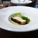 calme - 本日の鮮魚のしっとり焼き ブールブランソース