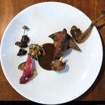 calme - 優雅で感傷的な森鶉のロースト ソース・サルミ