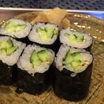 双葉寿司 - 河童巻き
