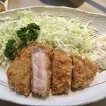 tonkatsuookura - とんかつ定食1200円