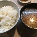 tonkatsuookura - ご飯・豚汁