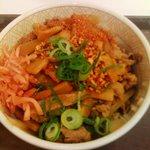 5859037 - 紅生姜と七味をのせて撮影