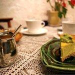 谷中 ボッサ - 枝豆のチーズケーキ
