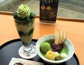 茶寮都路里 京都伊勢丹店 - 如月(1480円)
