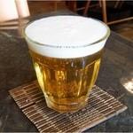 キーマオキッチン. - ランチビール200円