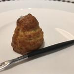 レストラン ヒロミチ - ゴルゴンゾーラのグジェール
