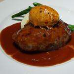 58596599 - 牛・鴨・豚挽肉のハンバーグ