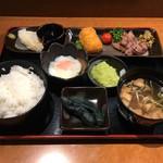 MMCオーガニックカフェ - みちのく名産定食 1550円