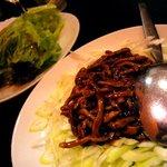 歓迎 - 豚挽肉炒め