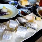 左可井 - 051029左可井季節の押し寿司そうめんセット.jpg