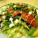 ガゼーボ - 050911GAZEBOスモークサーモンとクリームチーズのサラダ.jpg