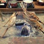 能登半島  郷土料理の宿 さんなみ - めばると海餅