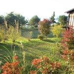 能登半島  郷土料理の宿 さんなみ - 朝のお庭散策