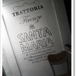 トラットリア フィレンツェ・サンタマリア -