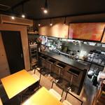 舞鶴キッチン - テーブル席とカウンター席♬