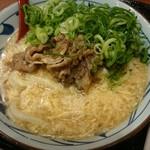 丸亀製麺 - 肉たまあんかけうどん大