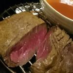 58609084 - 2016/11 黒毛和牛もも肉の燻製(燻製後)